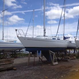 1981 Jeremy Rogers Contessa 28 sailing boat for sale