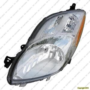 Head Lamp Driver Side Hatchback Toyota Yaris 2009-2011