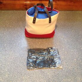 BRAND NEW AND VACUUM SEALED very strong beach or shopping bag etc... BARGAIN PRICE THANKS.