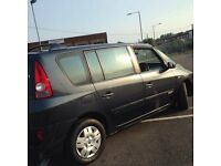 sell or px Renault Espace 2.0T automatic 1year MOT