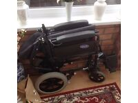 HArdly used light weight wheelchair