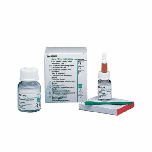 3M ESPE Ketac™ Cem Radiopaque Glass Ionomer Luting Dental Cement Complete Kit