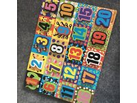 Melissa and doug chunky number puzzle