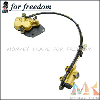 Motorcycle Rear Hydraulic Disc Brake System Parts For CRF Apollo PRO Dirt Bike