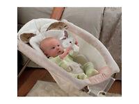 Fisher-Price Newborn Rock 'N Play Sleeper, Bunny design LIKE NEW