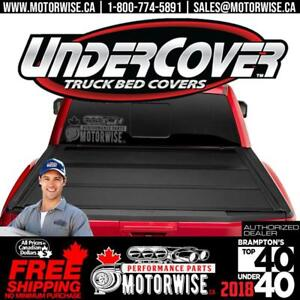 Undercover Tonneau (Bed) Covers | Swingcase | in Stock Ready to Ship with Free Shipping Canada Wide at www.motorwise.ca