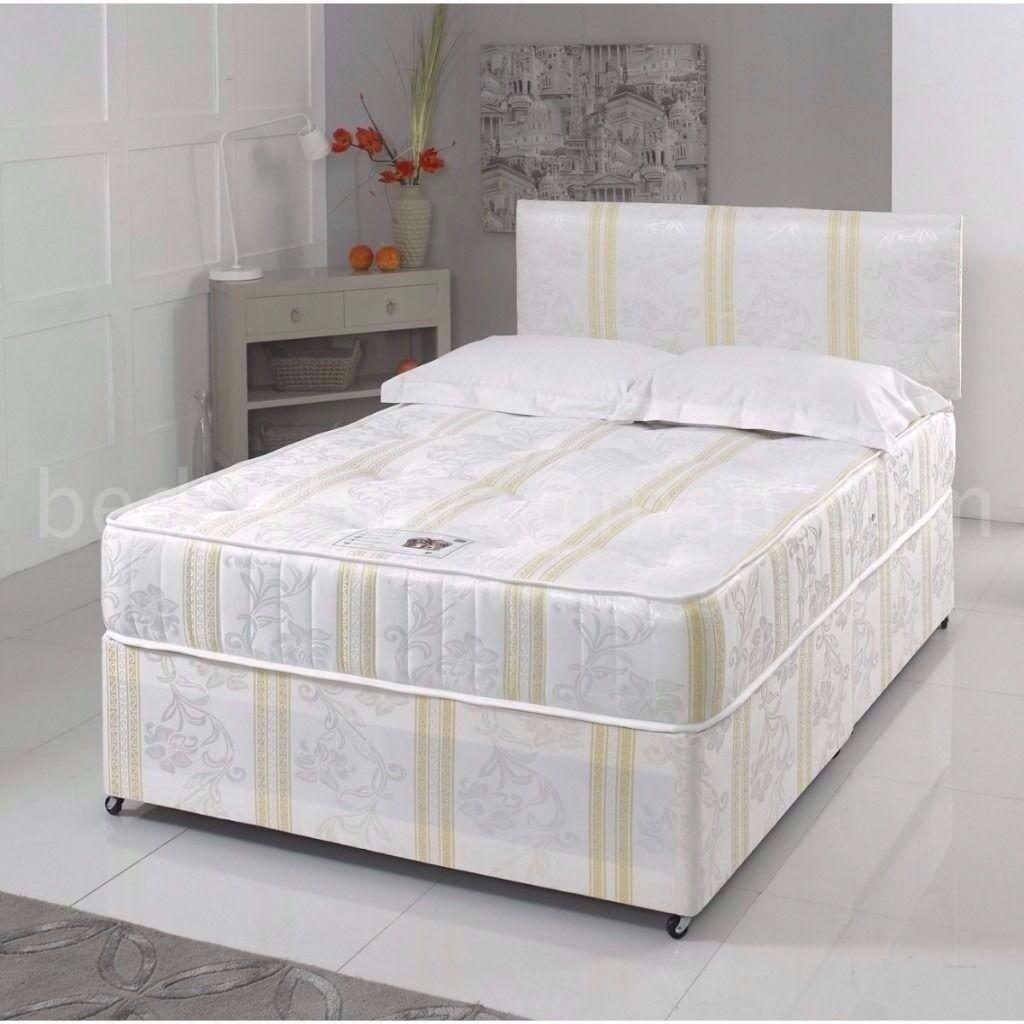 --AMBASSADOR ORTHOPEDIC RANGE- BRAND NEW DOUBLE DIVAN BED WITH ORTHOPEDIC MATTRESSES RANGE