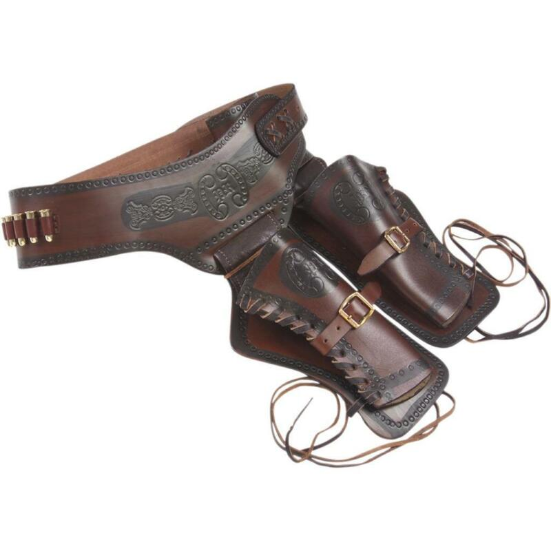 Old West Double Rig Revolver Holster by Denix of Spain Collectible