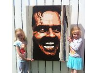The Shining Original Acrylic on Canvas Painting 100x80cm
