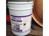 20 Ltrs tin of IKO Waterproof roof paint Grey in colour 10 year guarantee,Can Deliver