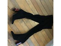 Over knee boots size 6