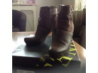 Jones The Boot Maker Brown Ankle Boots