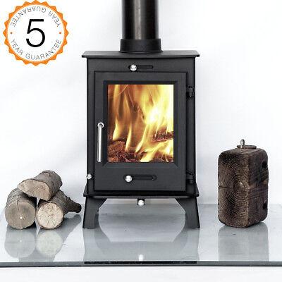 80% Efficient Ecosy+ Ottawa 5kw Multi-Fuel Woodburning Stove Stoves Burner
