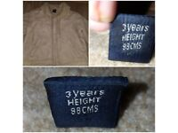Boys jacket diffrent size
