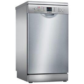 Bosch SPS46II00G Freestanding Slimline Dishwasher, Silver - Bought March 2017 - EXCELLENT CONDITION