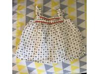 Baby girl dresses 0-3 (new)