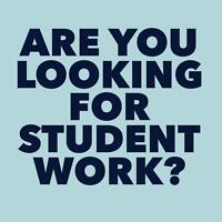Part-Time & Full-Time Student Work