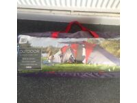 6 person family tent brand new never used tesco ��100