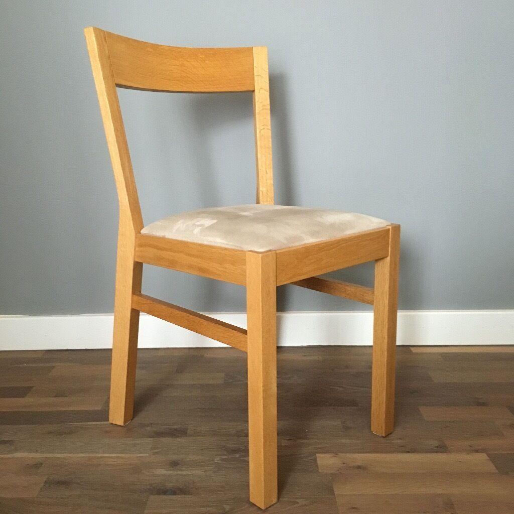 4 Ikea Roger dining chairs. Solid oak. & ikea roger chair u2013 Loris Decoration