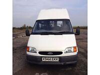 FORD TRANSIT 190 LWB MINIBUS 1998CC 13 SEATER (PLUS DRIVER) MANUAL PETROL