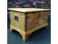 Large Solid Pine Trunk