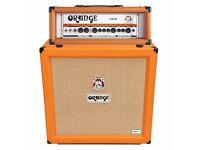 Orange Crush PRO 4x12 Cabinet AND Orange Crush CR120H Amp Head [Immaculate]