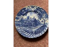 Anne Hathaways Cottage Vintage Plate by Ironstone