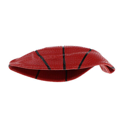 6 Inch Mini Red Basketball Indoor Sports Small Ball Toy Best Gift for