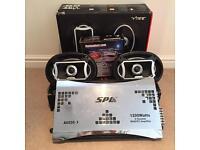 "6x9"" Speakers, 1500 Watt Amplifier and Wiring Kit"