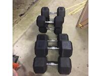 60kg Dumbbells& 32.5kg Dumbells. BRAND NEW