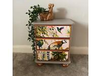 Sold single Upcycled Bedside drawers