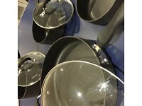 7 piece high-quality non-stick cooking pan set
