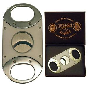 Cuban Crafters - Deluxe Double Guillotine Cigar Cutter - CC20DLX