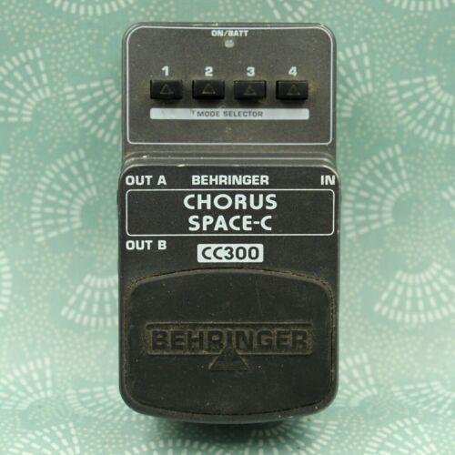 Behringer CC300 CHORUS SPACE-C Guitar Effect Pedal