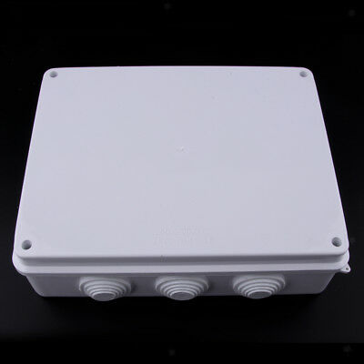 255 X 200 Mm Waterproof Cable Wire Junction Box Adaptable Outdoor Enclosure