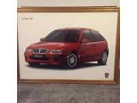 Rover 25 Set of three Framed Posters