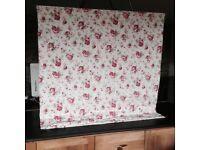 Ikea ROSALI FAbric by Cath Kidston Floral Roman Blind
