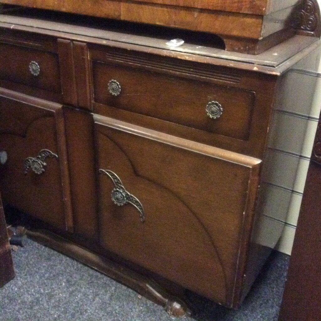 Vintage sideboard oak