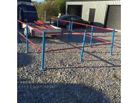 Safety railing suit shed warehouse workshop