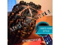Hairdresser ( African braid)