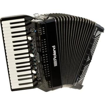 Roland FR-4X-BK V-Accordion pianoklavier zwart
