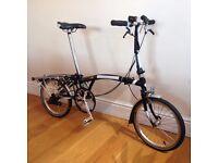 Brompton S2R Folding Bike - All Original - Fantastic Condition