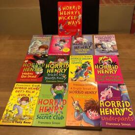 24 x Horrid Henry boobs. paperback books. Good condition