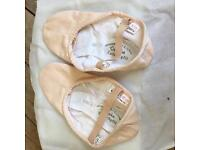 BRAND NEW SPLIT SOLE SANSHA BALLET SHOES.