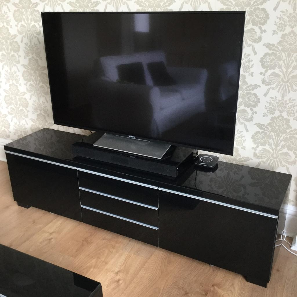 Prime Ikea Besta Burs Tv Cabinet And Matching Wall Cupboard In Falmouth Cornwall Gumtree Andrewgaddart Wooden Chair Designs For Living Room Andrewgaddartcom