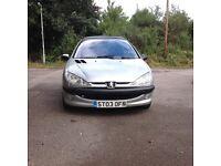 Peugeot 206 LX 1.4 HDI diesel 3 door mot 12 months full history
