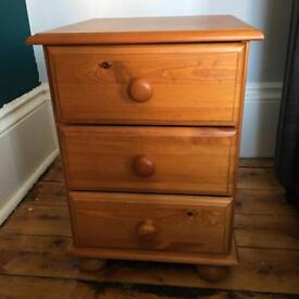 £15 bedside table