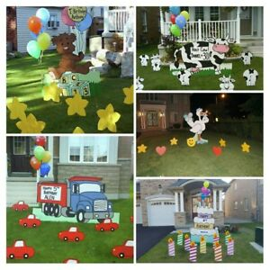 Birthday Lawn Signs Kijiji in Ontario Buy Sell Save with