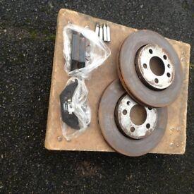 Skoda Fabia Brake disks and pads