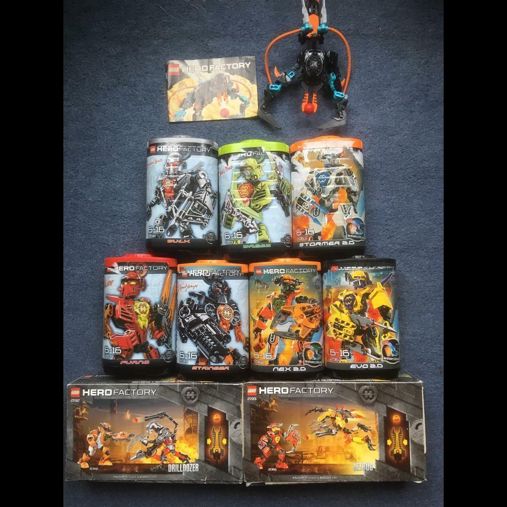 Lego Hero Factory sets x 10   in Stevenston, North Ayrshire   Gumtree